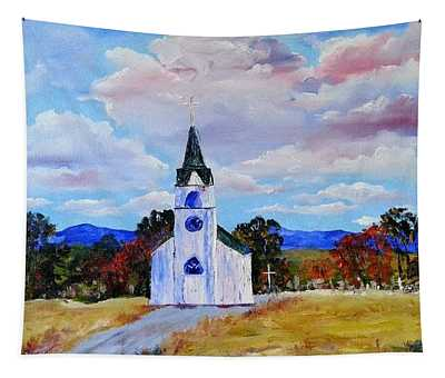#17 St. Johns Historic Church On Hwy 69 Tapestry