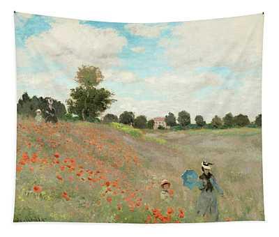 Poppy Field Tapestry