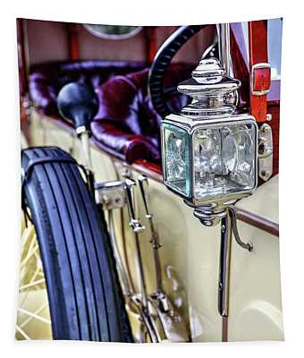 1913 Rolls Royce Silver Ghost Detail Tapestry