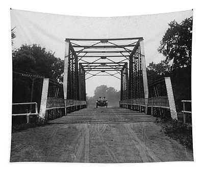 1915 Hudson Road Bridge Tapestry