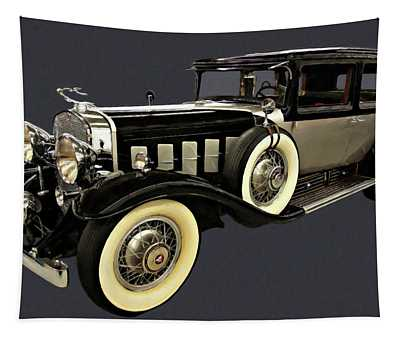 1930 Cadillac Imperial Limousine V16 Digital Oil  Tapestry