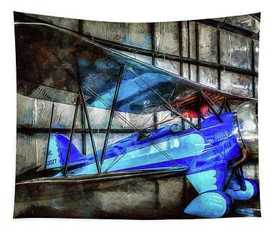 1932 Waco Biplane Tapestry