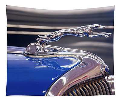 1934  Ford Greyhound Hood Ornament Tapestry