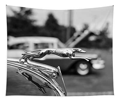 1934 Ford V8 Hood Ornament Tapestry