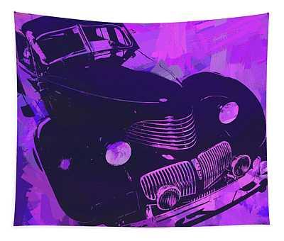 1940 Hupp Skylark Violet Pop Tapestry