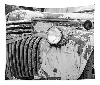 1946 Chevy Work Truck Fender And Grill Tapestry