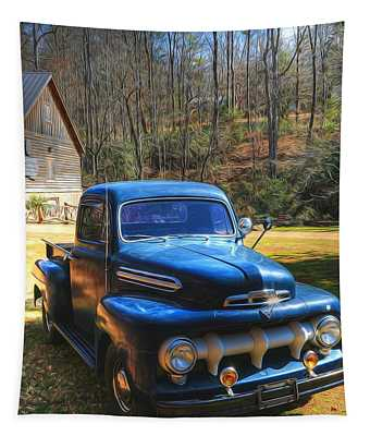 1951 Ford F-100 Pickup  Tapestry