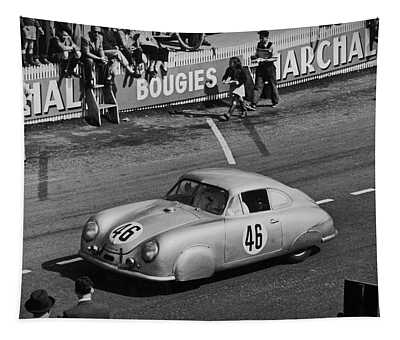 1951 Porsche Winning At Le Mans  Tapestry