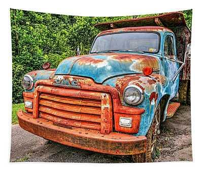 1955 Gmc Truck Tapestry