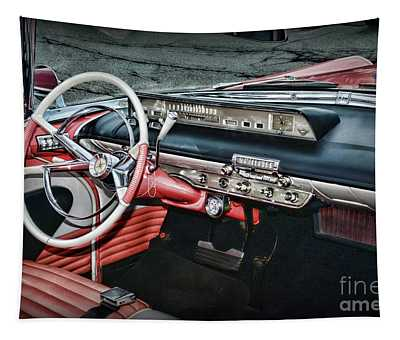 1956 Lincoln Continental Premiere Cockpit Tapestry