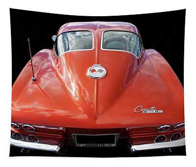 1963 Corvette Stingray Split Window Rear Tapestry