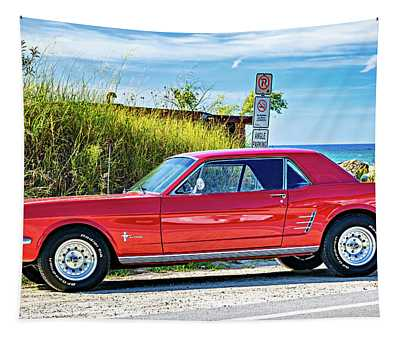 1965 Mustang Tapestry
