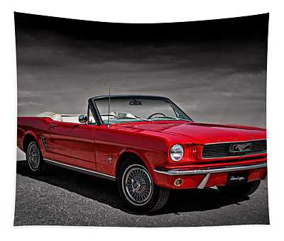 1966 Ford Mustang Convertible Tapestry