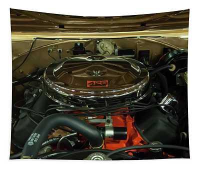 1967 Plymouth Belvedere Gtx 426 Hemi Motor Tapestry