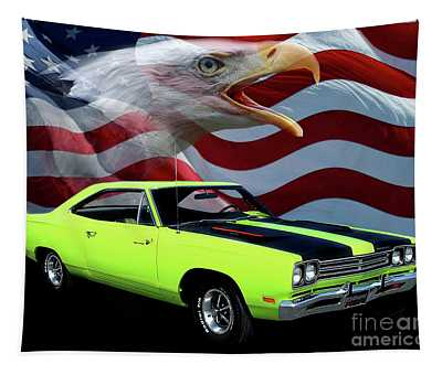 1969 Plymouth Road Runner Tribute Tapestry