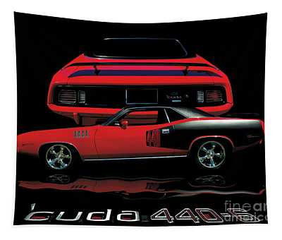 1971 Plymouth Cuda 440 Six Pack    Tapestry