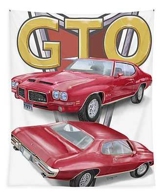 1971 Pontiac Gto Tapestry