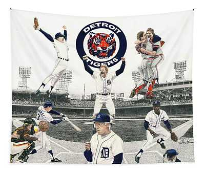 1984 Detroit Tigers Tapestry