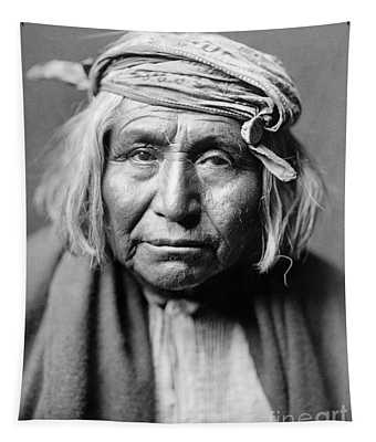 Apache Man, C1906 Tapestry