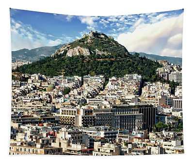 Athens Panorama Tapestry