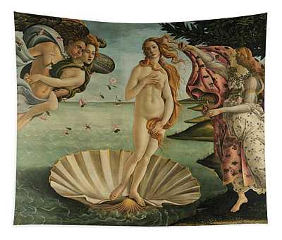 The Birth Of Venus, Detail Tapestry