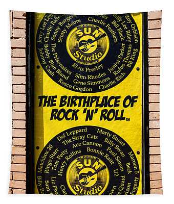 Birthplace Of Rock N Roll Tapestry