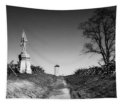 Bloody Lane - Antietam Battlefield Tapestry