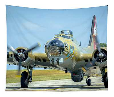 Boeing B-17g Flying Fortress   Tapestry