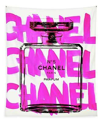 Chanel Chanel Chanel  Tapestry