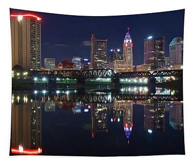 Columbus Ohio Tapestry