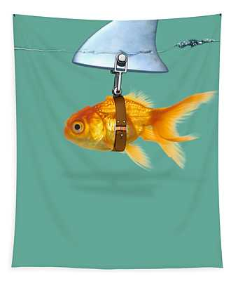 Gold Fish  Tapestry