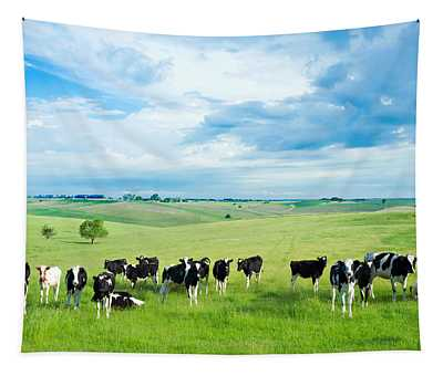 Happy Cows Tapestry