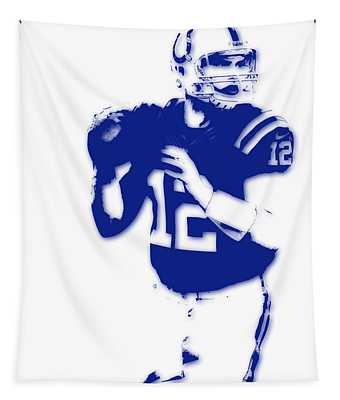 Indianapolis Colts Andrew Luck Tapestry