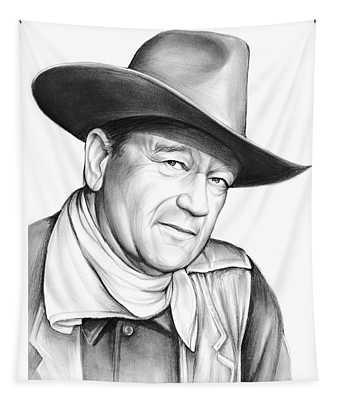 John Wayne Tapestry
