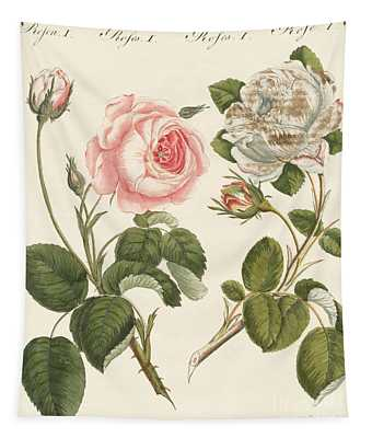 Kinds Of Roses Tapestry