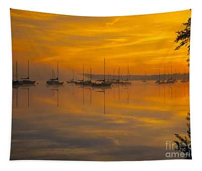 Lake Massabesic - Auburn New Hampshire Usa Tapestry