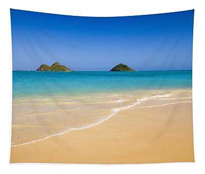 Lanikai, Mokulua Islands Tapestry