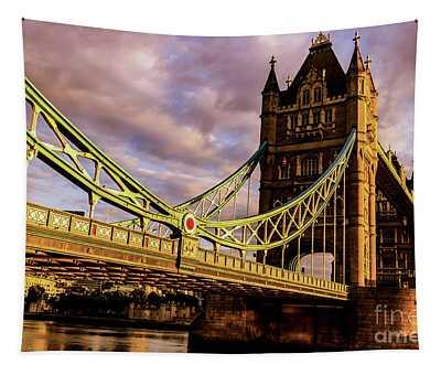 London Tower Bridge. Tapestry
