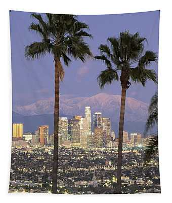 Los Angeles Ca Tapestry