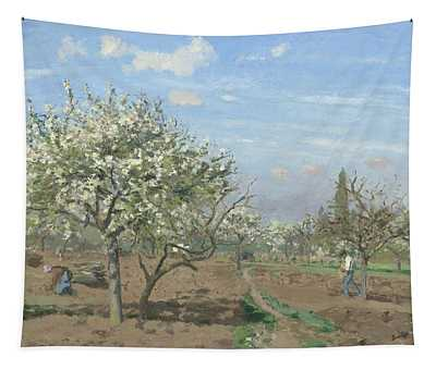 Orchard In Bloom Tapestry