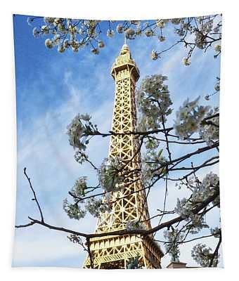 Paris Las Vegas Tapestry