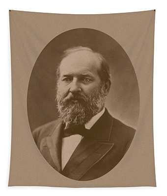President James Garfield - Two Tapestry