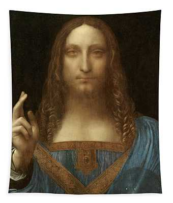 Salvator Mundi Tapestry