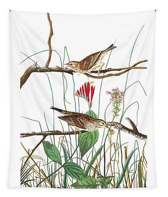 Savannah Finch Tapestry