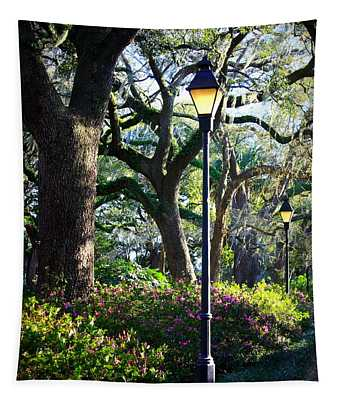 Savannah Spring Perspective Tapestry