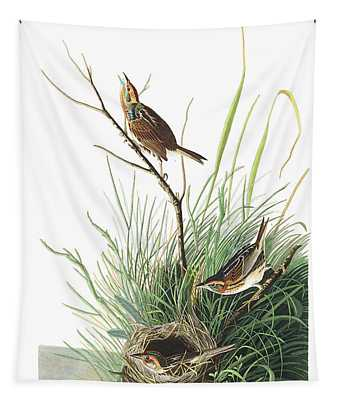 Sharp-tailed Finch Tapestry
