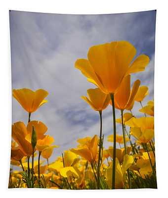 Springtime Poppies  Tapestry
