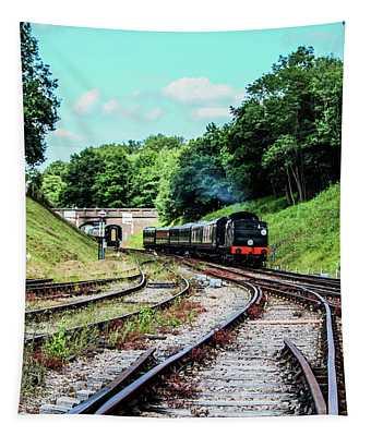 Steam Train Tapestry