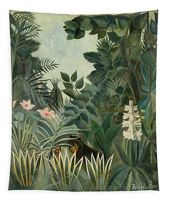 The Equatorial Jungle Tapestry