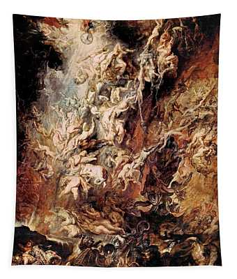 The Fall Of The Damned Tapestry